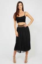 TFNC Sabila Black Skirt