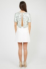 Lace & Beads Beatle Mint Top