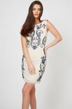 TFNC Ari Nude Dress