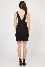 TFNC Leona Black Shift Dress