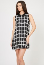 TFNC Caroline Black Shift Dress