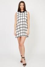 TFNC Caroline White Shift Dress