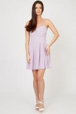 TFNC Elida Lilac Chiffon Dress