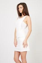 TFNC Leona White Shift Dress