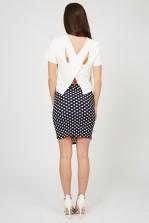 TFNC Bimba Spot Mini Skirt