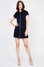 WalG Zip Front Shift Dress
