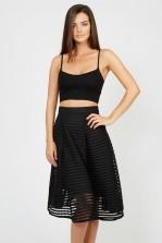 TFNC K20 Black Skirt