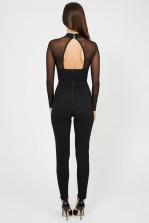 TFNC Minka Black Jumpsuit
