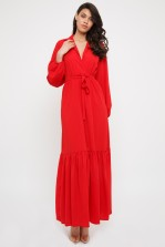 TFNC Ziggy Red Maxi Dress