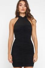 TFNC Noaise Black Mini Dress