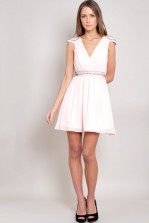 TFNC Harlow Cap Sleeve Dress