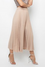 Lace & Beads Rohim Nude Trousers