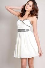 TFNC Darin Embellished Bandeau Dress