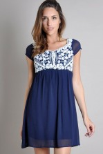 TFNC Donna Embellished Dress