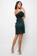 TFNC Carly Green Mini Dress
