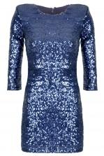 TFNC Paris Navy Sequin Dress