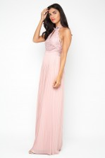 TFNC Madison Pearl Pink Maxi Dress