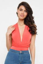 TFNC Jane Multiway Orange Bodysuit