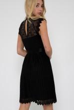 TFNC Sicily Mini Black Dress