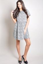 TFNC Hilary Print Dress
