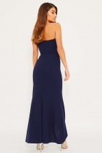 TFNC Sybil Navy Maxi Dress