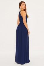 TFNC Getta Navy Maxi Dress
