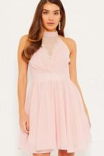 TFNC Katidja Pink Mini Dress
