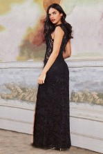 TFNC Dream Black Maxi Dress