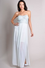 TFNC Tami Maxi Sequin Bandeau Dress