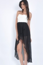 TFNC Campbell Drape Dress