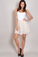 TFNC Heavenlee Textured Skirt