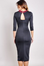 TFNC Marsie Textured Body Con