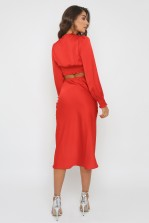 TFNC Thessa Red Skirt