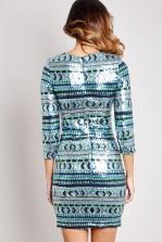 TFNC Paris Sequin Dress
