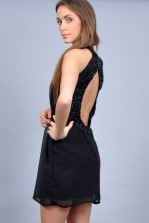 TFNC Cameo Open Back Dress