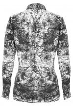 TFNC Tina Textured Effect Print Blouse