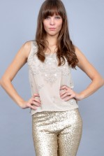TFNC Tania Embellished Top