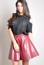 TFNC Adele Leather Look Skirt