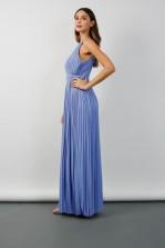 TFNC Serene Blue Bell Maxi Dress