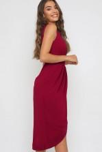 TFNC Nariva Mulberry Midi Dress