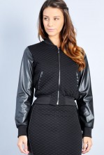 TFNC Bloom Jacket with PVC Sleeves