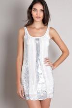 TFNC Caramel Embellished Dress