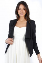 TFNC Waterfall Jacket with Zip Detail