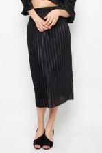 TFNC Elena Black Midi Skirt