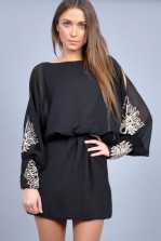 TFNC Rosyka Batwing Dress