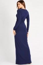 TFNC Izaro Navy Maxi Dress