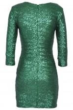 TFNC Paris Green Sequin Dress