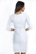 TFNC Paris Sequin Midi Dress