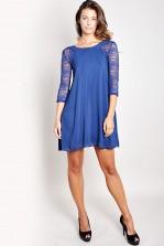 TFNC Agathe Long-Sleeved Swing Dress