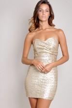 TFNC Sophie Sequin Dress